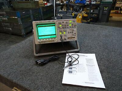 Agilent 54622d Mixed Signal Oscilloscope N2757a Gpib Module 1 Probe Specs