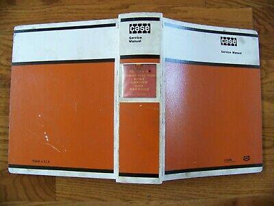 Case 680 Series -b Construction King Loader  Backhoe Service Manual