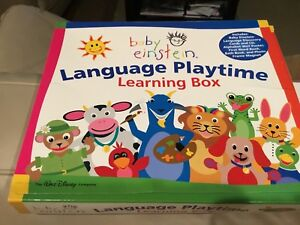 Baby Einstein learning box and hard book