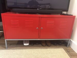 IKEA PS Cabinet Red - TV/Media Stand