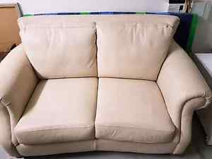 Thick Leather 2 seater Brookwater Ipswich City Preview
