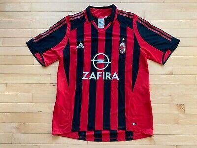 AC Milan 2011/12 Away Jersey, Size L Mens #33 Thiago Silva EUC RARE