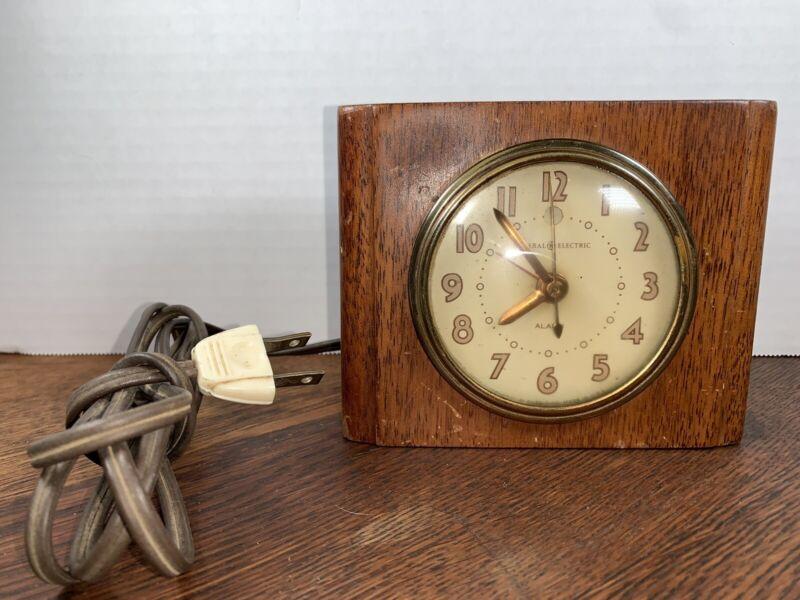 Vintage General Electric Clock Works