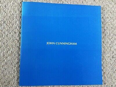 SIGNED JOHN CUNNINGHAM 70TH BIRTHDAY RETROSPECTIVE EXHIBITION CATALOGUE 1996