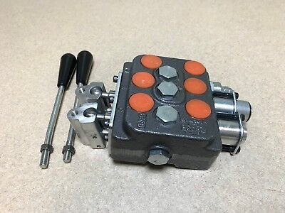 Hydraulic Control Valve 2 Spool | Owner's Guide to Business and