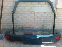 Jeep Wrangler rear bumper and roll bar Melbourne CBD Melbourne City Preview