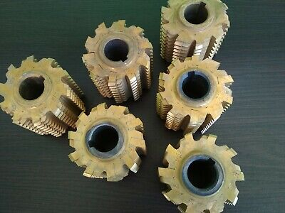 Involute Spline Hob Cutter With Soldered Plates Hss Pa 30 Module 25 Lass B