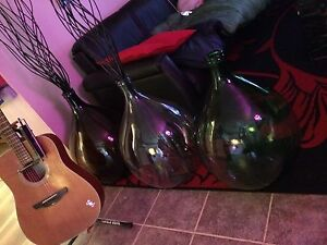 Huge 54L glass jug vintage