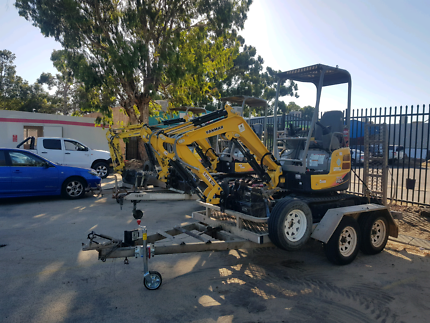 YOU DRIVE MINI EXCAVATORS $200 PER DAY INC