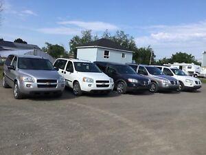 Lot de van , mini van , caravan , van , Chevrolet , Montana