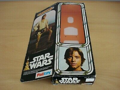 Vintage Star Wars, Luke Skywalker Doll, 12 inch Figure, Box Only, Palitoy, 1978