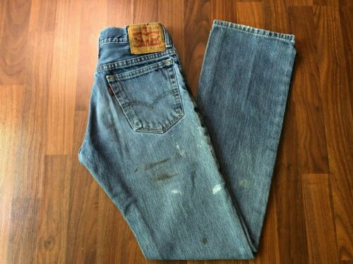 """Vintage Levis Red Tab 517 Stained Grunge Jeans - 29"""" x 34"""" (28"""" x 34"""")"""
