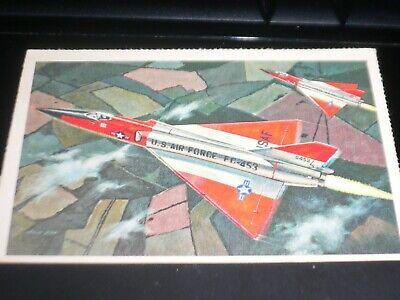 REVELL CARD N.3 THE AIR POWER SERIE CONVAIR F-106A DELTA DART