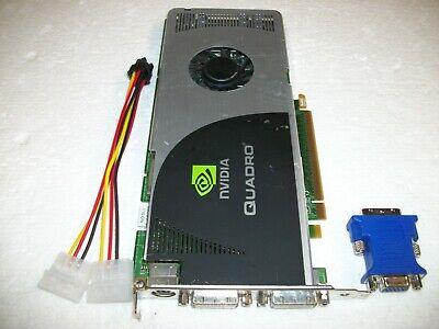 NVIDIA Quadro FX3700 512MB GDDR3 PCIe Graphics Video Card Workstation 256-Bit