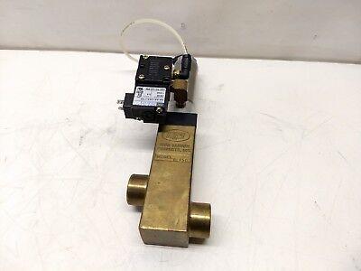 Key High Vacuum Blp50 Electropneumatic Brass Valve