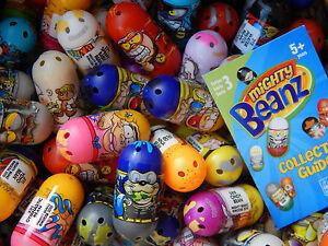 20 x Mighty Beanz -Bundle/Job lot Random jumping Beans Lucky Dip Party Bag Toys