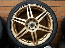"MULTI FIT 4 STUD 17"" WHEELS - FORD, MAZDA, HONDA, MITSUBISHI, ETC Lalor Whittlesea Area Preview"