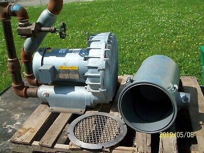 Gast R7100a-3 Regenair Blower W J1210b Baldor Motor Filter See Description