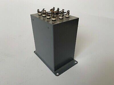 Vintage UTC Broadcast Audio input Transformer V-3856 / CE B-3162