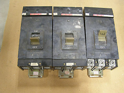 Sq D Lhb36400 400a 3p 600v 25kaic Bolt-on I-line Circuit Breaker