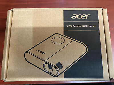 Acer DLP Projector 1600 x 1200 200 lm 2000:1 Contrast Ratio