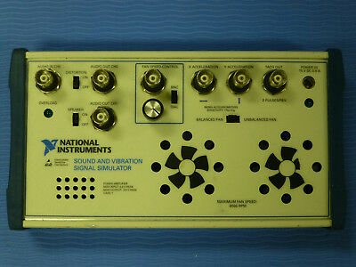 National Instruments Ni Sound And Vibration Signal Simulator Box
