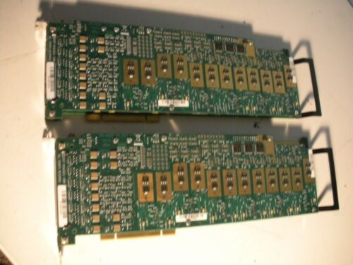 2X Dialogic DGL500206030AB Voice Interface Cards D/120JCT-LS