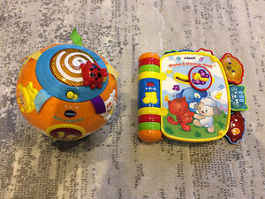 VTech - Move & Crawl Ball and Rhyme & Discover Book