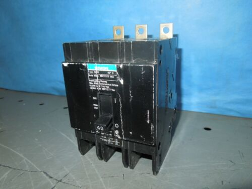 Siemens Bqd340 40a 3p 480v 50/60hz Circuit Breaker Type Bqd Used
