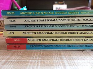 Archie's pals n gals double disgust magazine