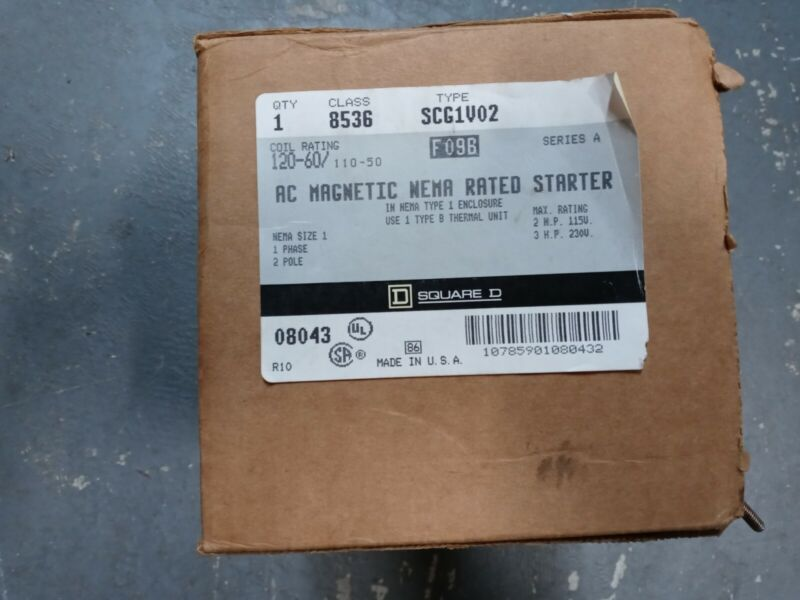 Square D By Schneider Electric 8536SCG1V02 Magnetic Motor