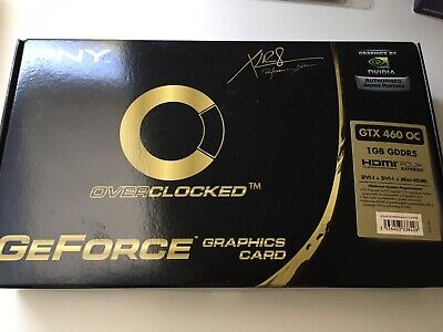 PNY GTX 460 1GB Grafikkarte PCI-Express enthusiast Edition XLR8 nVIDIA