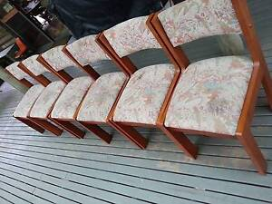 6 Dining room chairs in good condition Gisborne Macedon Ranges Preview