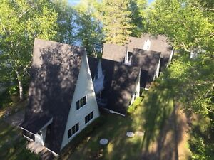Nominingue cottage for rent laurentian