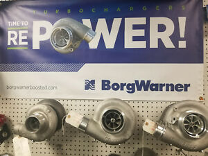 NEW Borg Warner Turbocharger S300SX3-66 S366 .91 A/R T4 Airwerks 177275