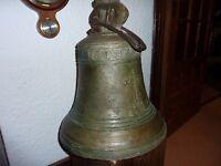 Antigua Campana De Bronce. -  - ebay.es