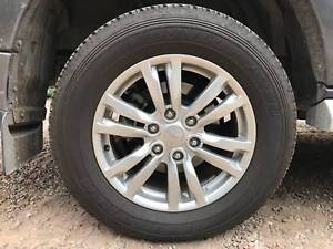 PAJERO NX EXCEED 2018 mag wheels 265/60 R18