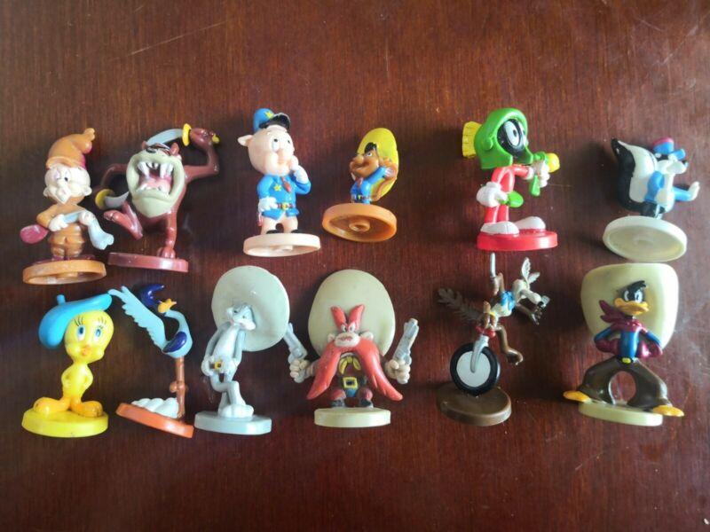 12 Figuras Looney Toons Completa Target Retro Vintage Full Collection Mexico