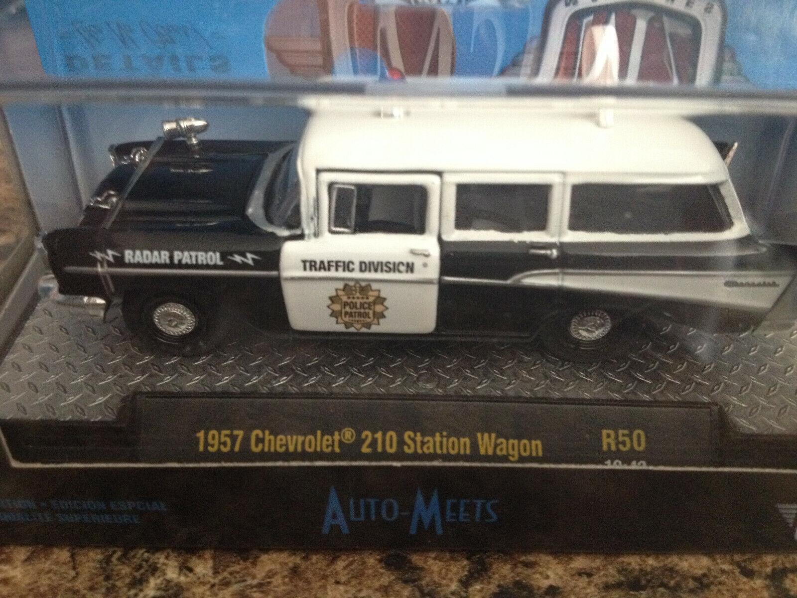 M2 MACHINES 2019 AUTO MEETS 1957 CHEVROLET 210 STATION WAGON
