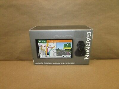 Garmin Drive Smart 61 North America LMT-S + Friction Mount GPS Bundle