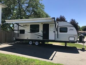 SOLD Oasis 25RS travel trailer