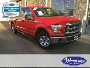 2016 Ford F-150 XLT FORD CERTIFIED PRE-OWNED, CRUISE CONTROL,...