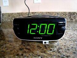 Sony ICF-CD815 Dream Machine Stereo CD Clock AM FM Radio Dual Alarm,  CYBER SALE