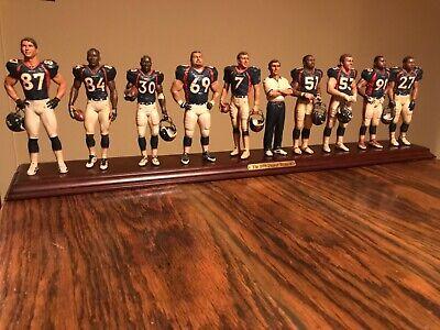 - Danbury Mint 1998 Denver Broncos Team Figurine NM/M Rare Super Bowl Champs Elway