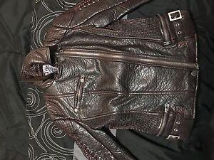Ladies Affliction leather jacket