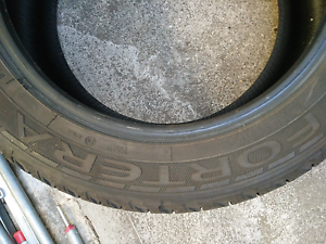 235/55R18 Goodyear Fortera tyres 70 to 80% tread remaining. Brunswick Moreland Area Preview