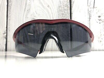 Vintage Oakley M Frame Metallic Red Black Men's SunglassesRare Fire Made USA