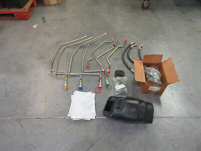 Case Ih New Holland Two Spool Remote Valve Kit - 710440056 716254006 New Oem