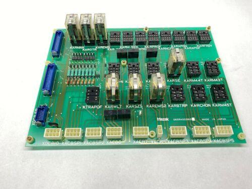Mazak D65RA002610 Control Board