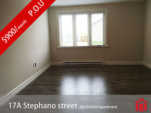 Ground Level Two Bedroom Apartment for Rent, Available Now
